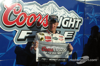 Dale Earnhart Jr. Texas Pole Winner