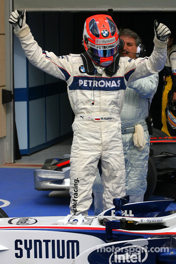 Pole winner Robert Kubica