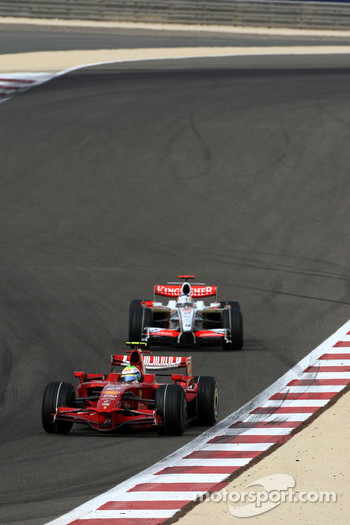 Felipe Massa, Scuderia Ferrari, Adrian Sutil, Force India F1 Team
