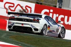 #90 FBR Racing Ferrari F430 GT: Anthony Beltoise, Pierre Ehret, Pierre Kaffer