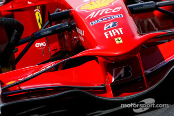 Ferrari F2008 new front wing