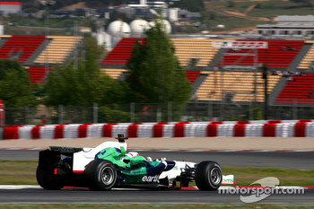 Rubens Barrichello, Honda Racing F1 Team, on slicks