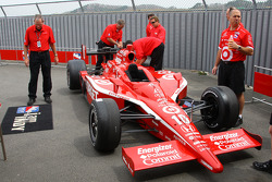 Chip Ganassi Racing car at tech inspection
