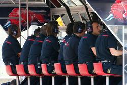 Scuderia Toro Rosso engineers
