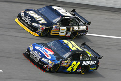 Jeff Gordon and Aric Almirola