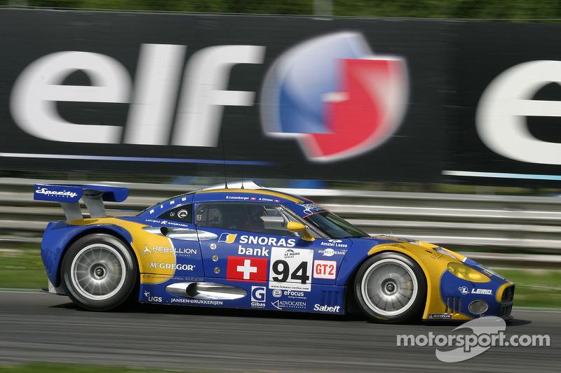 #94 Speedy Racing Team Spyker C8 Laviolette GT2R: Benjamin Leuenberger, Andrea Chiesa