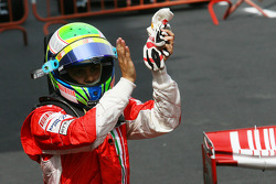 Second place Felipe Massa
