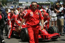 Modesta Menabue, Scuderia Ferrari, Engine Specialist