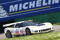 #73 Luc Alphand Aventures Corvette C6.R: Patrice Manopoulos, Jean-Luc Blanchemain, Sébastien Dumez