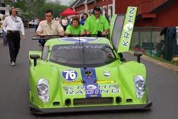 The #76 Pontiac Lola