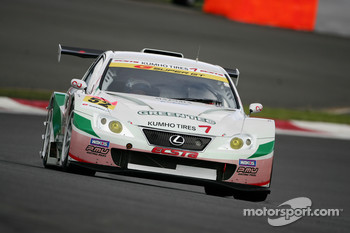 #52 Green Tec Kumho IS350: Takuya Kurosawa, Takuto Iguchi