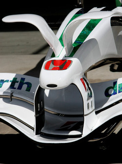 Honda Racing F1 Team, RA108, front wing
