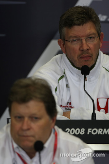 FIA press conference: Ross Brawn Team Principal, Honda Racing F1 Team