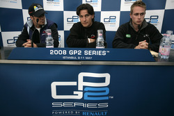 Giorgio Pantano, Andreas Zuber and Adam Carroll