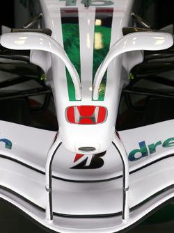 Honda RA108 front wing detail