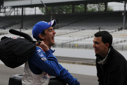 Darren Manning and Graham Rahal share a laugh