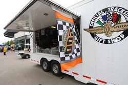 Official Trackside Gift Shops are located all around the Indianapolis Motor Speedway
