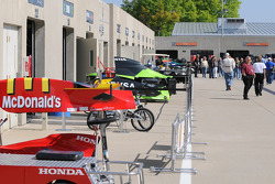 A rare commodity at IMS this month: sunshine