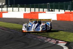 Spinning; #18 Rollcentre Racing Pescarolo - Judd: Vanina Ickx, Joao Barbosa