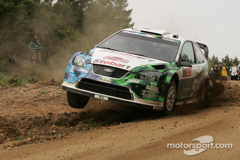 Gianluigi Galli and Giovanni Bernacchini, Stobart VK M-Sport Ford World Rally Team, Ford Focus RS WRC