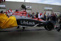 Max Papis's car