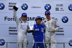 Round 7 podium winners