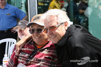 Rick Mears and a fan