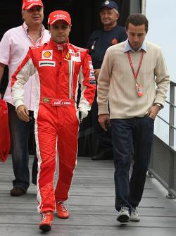 Felipe Massa, Scuderia Ferrari, Nicolas Todt, Manager of Felipe Massa
