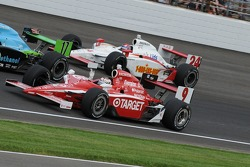 Scott Dixon on his victory lap