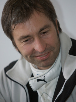 Heinz-Harald Frentzen at the Gumpert media event