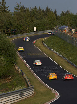 Qualifying action at Schwalbenzschwanz