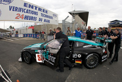 Vitaphone Racing Team Aston Martin DBR9 at scrutineering