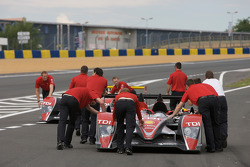 Audi Sport Team Joest Audi R10 out of scrutineering