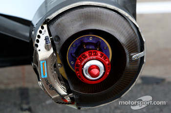 Renault F1 Team, R28, Brake Detail