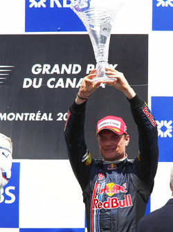 Podium: third place David Coulthard