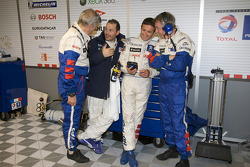 Paolo Catone, Jacques Villeneuve, Nicolas Minassian and Michel Barge