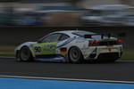 #90 Farnbacher Racing Ferrari F430 GT: Lars-Erik Nielsen, Pierre Ehret, Pierre Kaffer