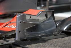 McLaren Mercedes bodywork detail