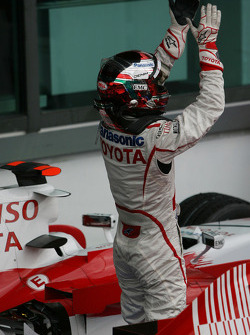 Third place Jarno Trulli