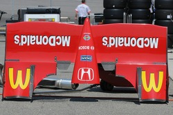 Justin Wilson's front wing