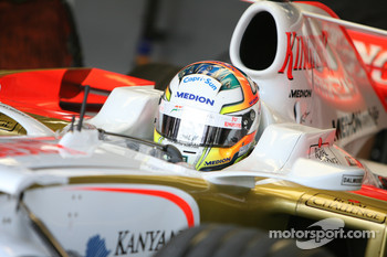 Sutil is not worried about the Pirellis