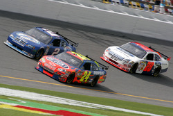 Kurt Busch, Jeff Gordon and Travis Kvapil