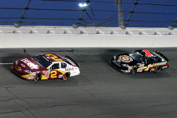Clint Bowyer and Mike Bliss