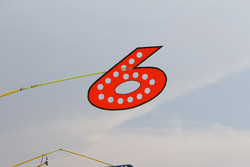 David Ragan's pit sign