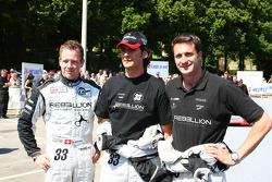 #33 Speedy Racing Team Sebah Lola Judd: Xavier Pompidou, Andrea Belicchi, Steve Zacchia