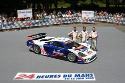 #50 Larbre Competition Saleen S7R: Christophe Bouchut, Patrick Bornhauser, David Halliday