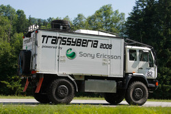 Transsyberia Rally service truck