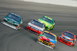 Kyle Busch, Dale Earnhardt Jr., Carl Edwards, Jeff Burton and Jeff Gordon