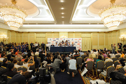 The press conference