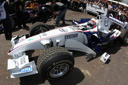 Marco Asmer, Test Driver, BMW Sauber F1 Team- Goodwood Festival of Speed 2008